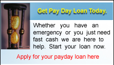 Apply For Your Payday Loan Today